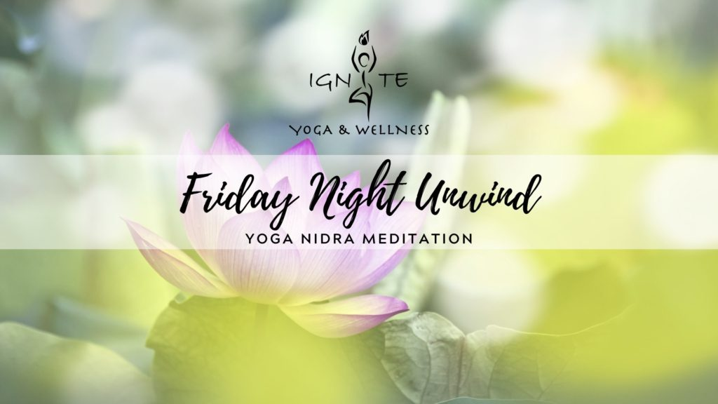 Friday Night Unwind: Yoga Nidra Meditation